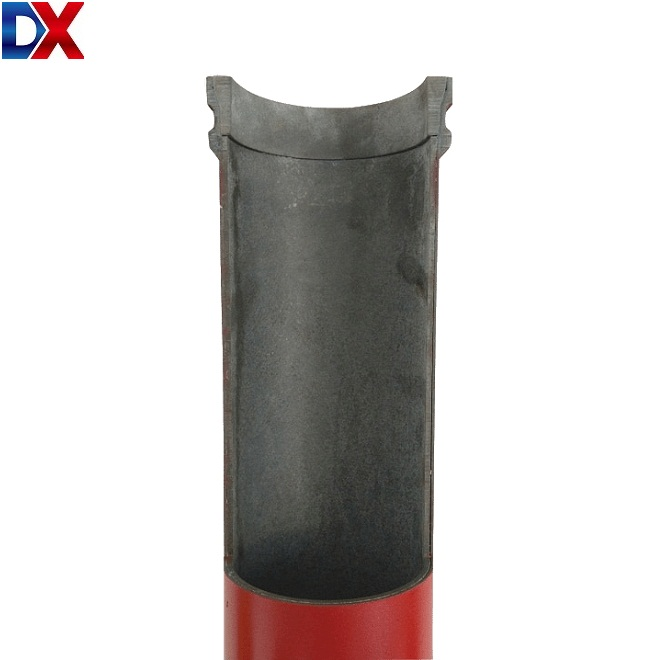DN125*5mm*3m boom pipe for truck-mounted concrete pumps