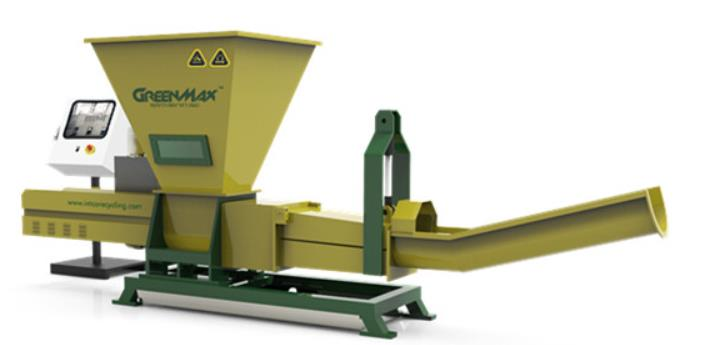 GREENMAX PET BOTTLE DEWATERING COMPACTOR P-C200