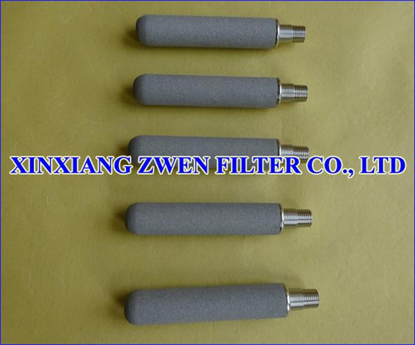 SS Sintered Powder Filter Cartridge