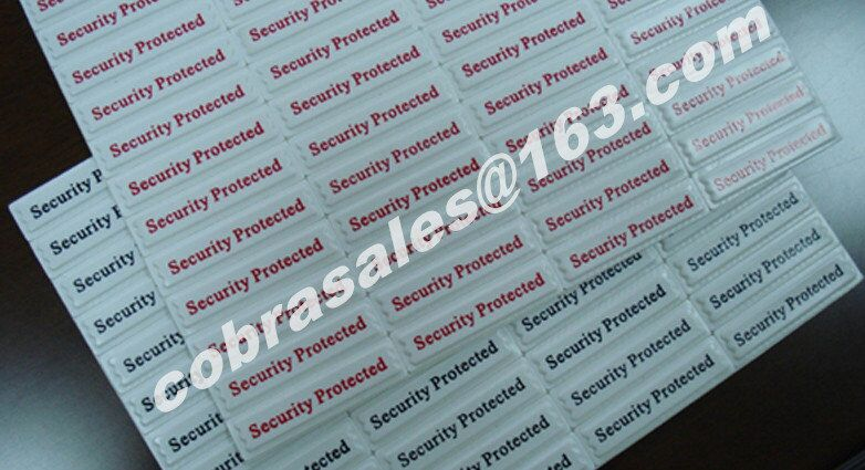EAS epc hard tag source tagging retail equipment retail security 58khz AM label tag 8.2mhz