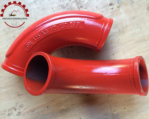 Concrete Pump Elbow DN125 R275 90D