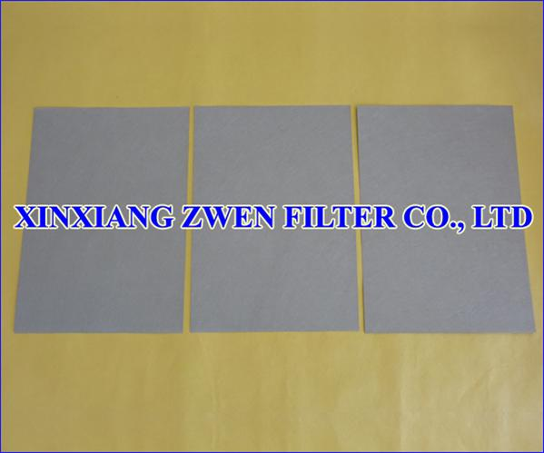 Sintered Metallic Fiber Felt