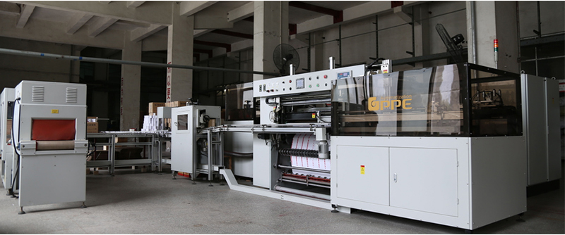 GPPE Fully-automatic POS/ATM Paper Surface Rewinder