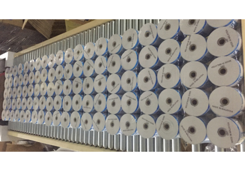 Masking Paper Case Packer