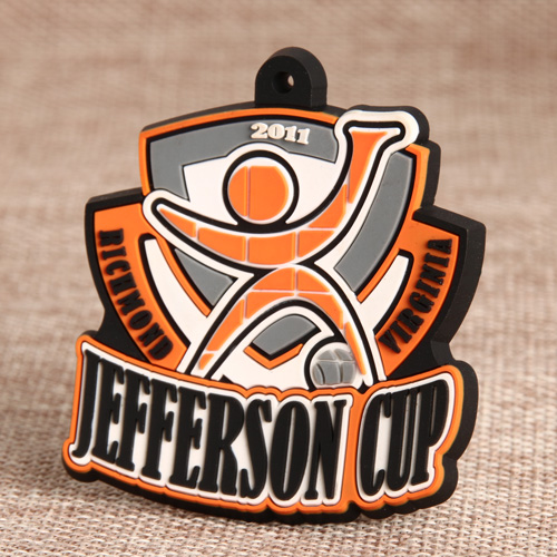 Jefferson Cup PVC Patches