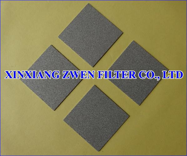 Metal Powder Filter Plate