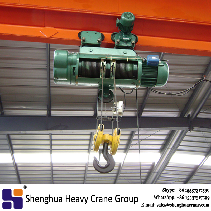 md1 double speed wire rope electric hoist on sale