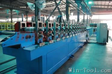 Double Row Special Roof Forming Machine