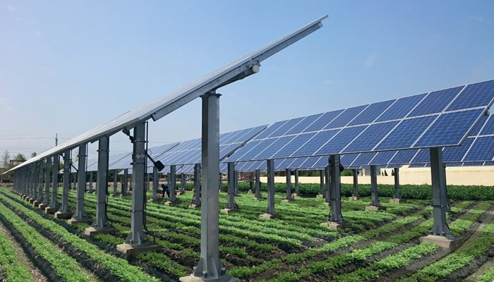 High Efficiency PV Horizontal Single-axis Solar Tracking System