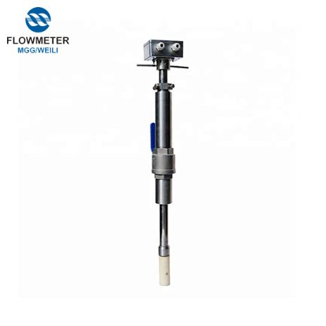 Plug In Accurate Flowmeter China,Electromagnetic Model Insertion Flow Meter