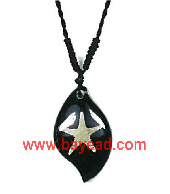 real starfish in resin necklace jewelry,novel jewelry