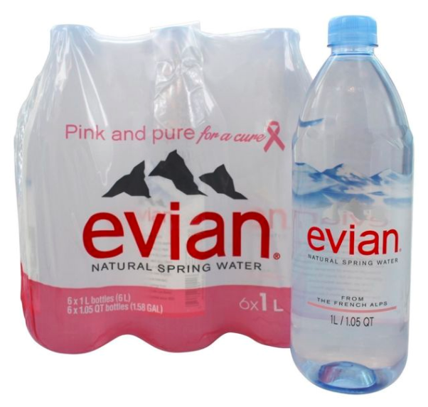 EVIAN MINERAL SPRING WATER