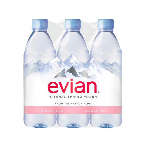 Evian Natural Spring Water for wholesale