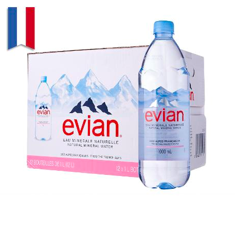 Evian Mineral Water New Arrival