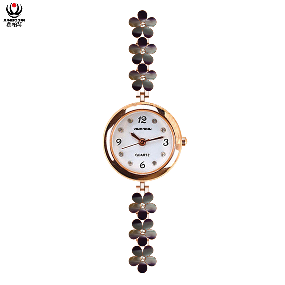 XINBOQIN China Supplier Wholesale Japan Movement PC21 Quartz Watch Lady Fashion 3ATM Water Resistant