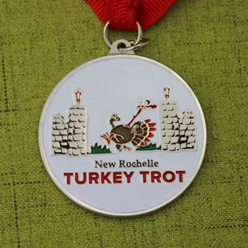 Cheap Medals | Turkey Trot Customized Run Medals