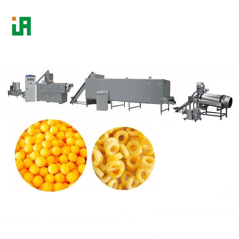 Flavored Bite Size Savoury Snack Food Processing Equipment