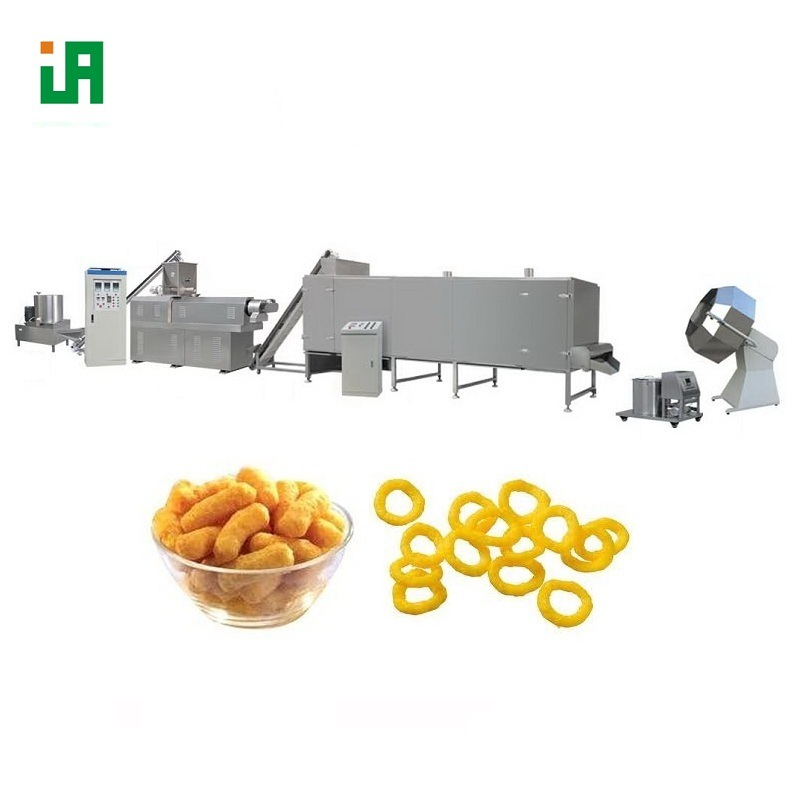 Bite Size Cereal Crunchy Puffed Foodstuff Project Machine