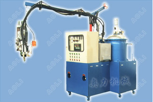 Two Components Low Pressure PU Form Injection Machine