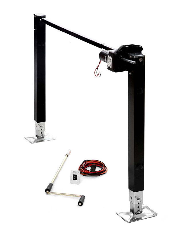 Electric Fifth Wheel Landing Gear