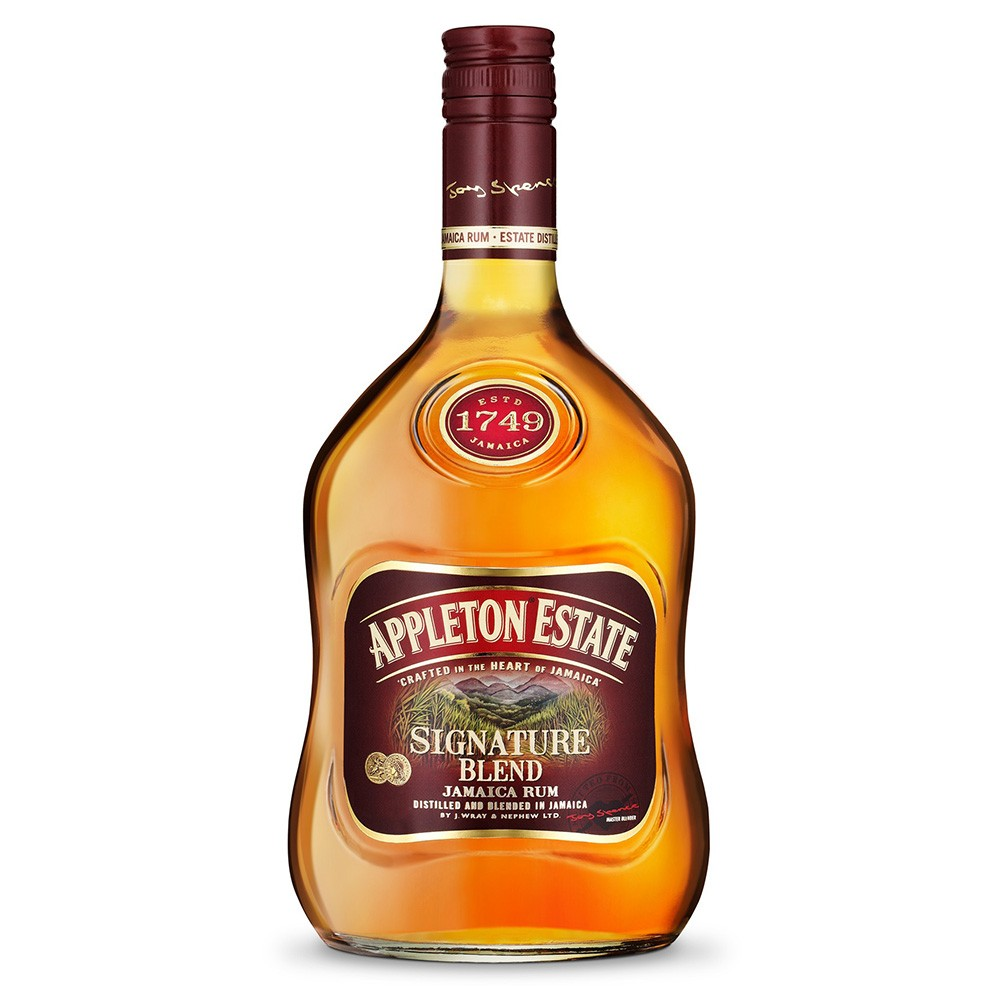 Appleton Estate Signature Rum 70cl Jamaican Blended Gold Rum 700ml / 40%