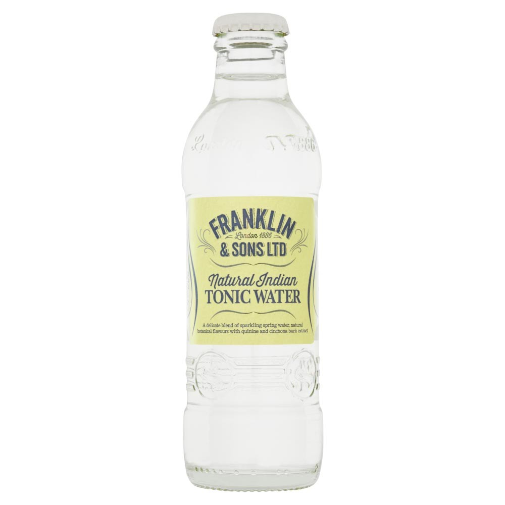 Buy Franklin & Sons Natural Indian Tonic Water 200ml