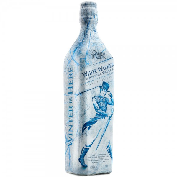 Buy Johnnie Walker White Walker Whisky 70cl Game Of Thrones Whisky Limited Edition 700ml / 41.7%