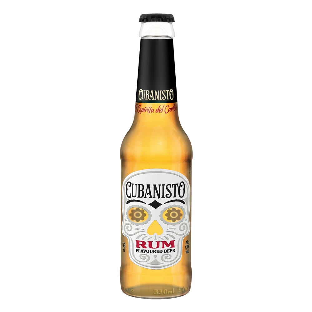 Buy Cubanisto Rum Beer 24x 330ml Rum Flavoured Beer 24x 330ml / 5.9%
