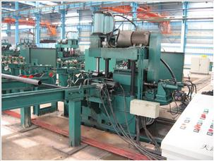 End Facing and Beveling Machine