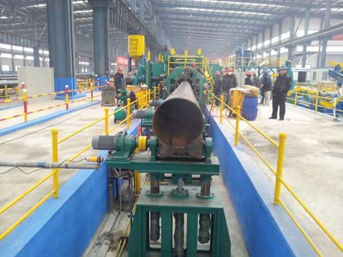 Straight Seam Submerged-Arc Welded Pipe Mill