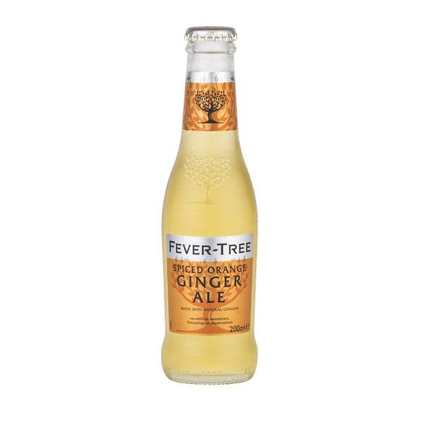 Buy Fever Tree Spiced Orange Ginger Ale 200ml Limited Edition