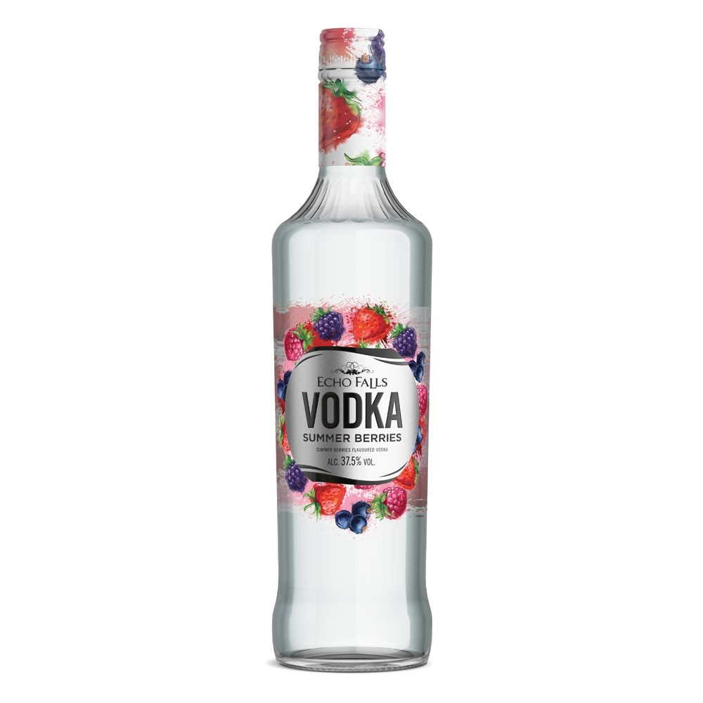 Echo Falls Summer Berries Vodka 70cl 700ml / 37.5%