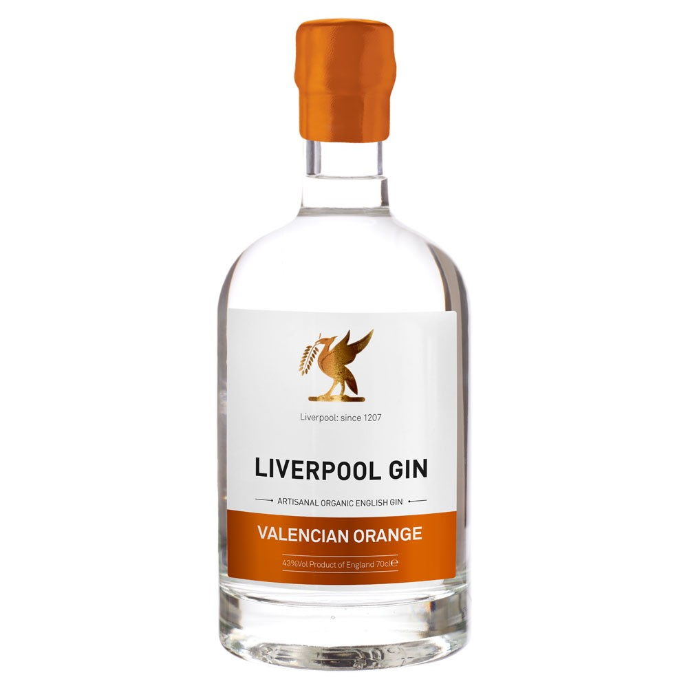 Buy Liverpool Gin Valencian Orange 70cl 700ml / 42%
