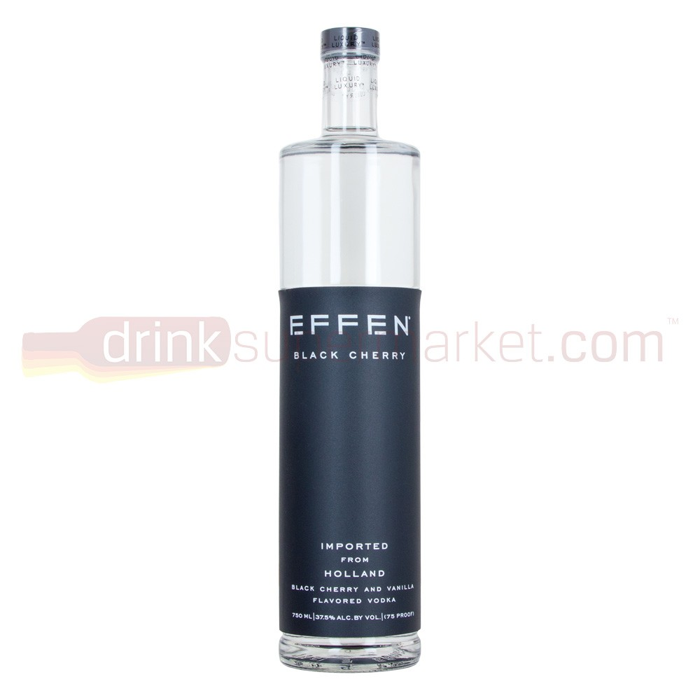 Effen Black Cherry Vodka 70cl Dutch Black Cherry Flavour Wheat Vodka 700ml / 37.5%