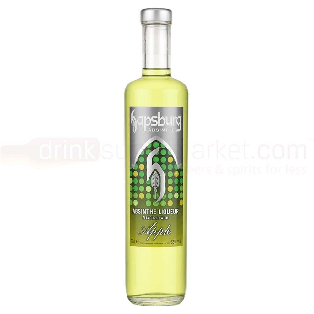 Buy Hapsburg Orchard Apple Absinthe Liqueur 70cl Orchard Apple Absinthe Liqueur 700ml / 33%