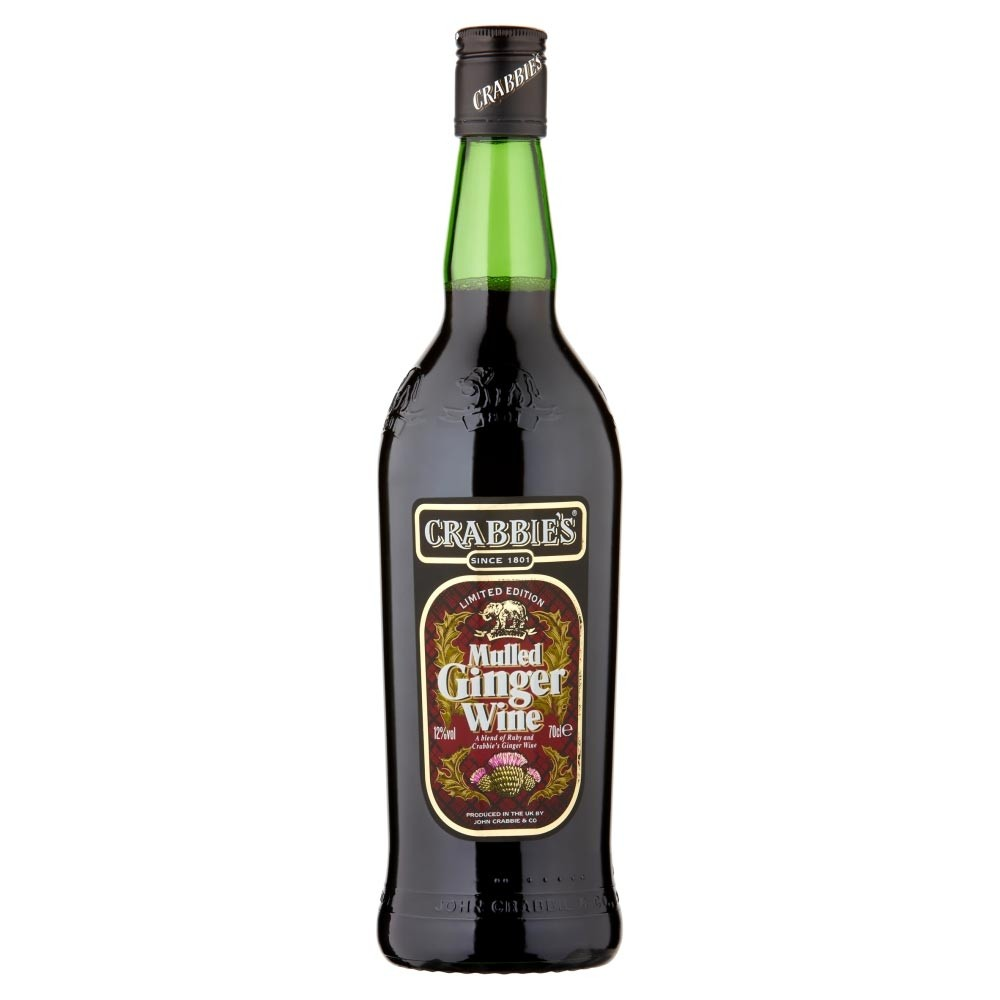 Buy Crabbies Mulled Ginger Wine 70cl Blend Of Spices 700ml / 12%