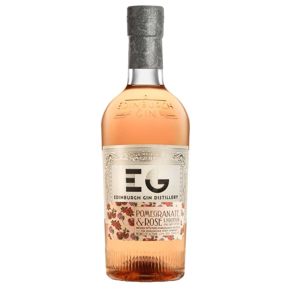 Buy Edinburgh Gin Pomegranate & Rose Liqueur 50cl 500ml / 20%