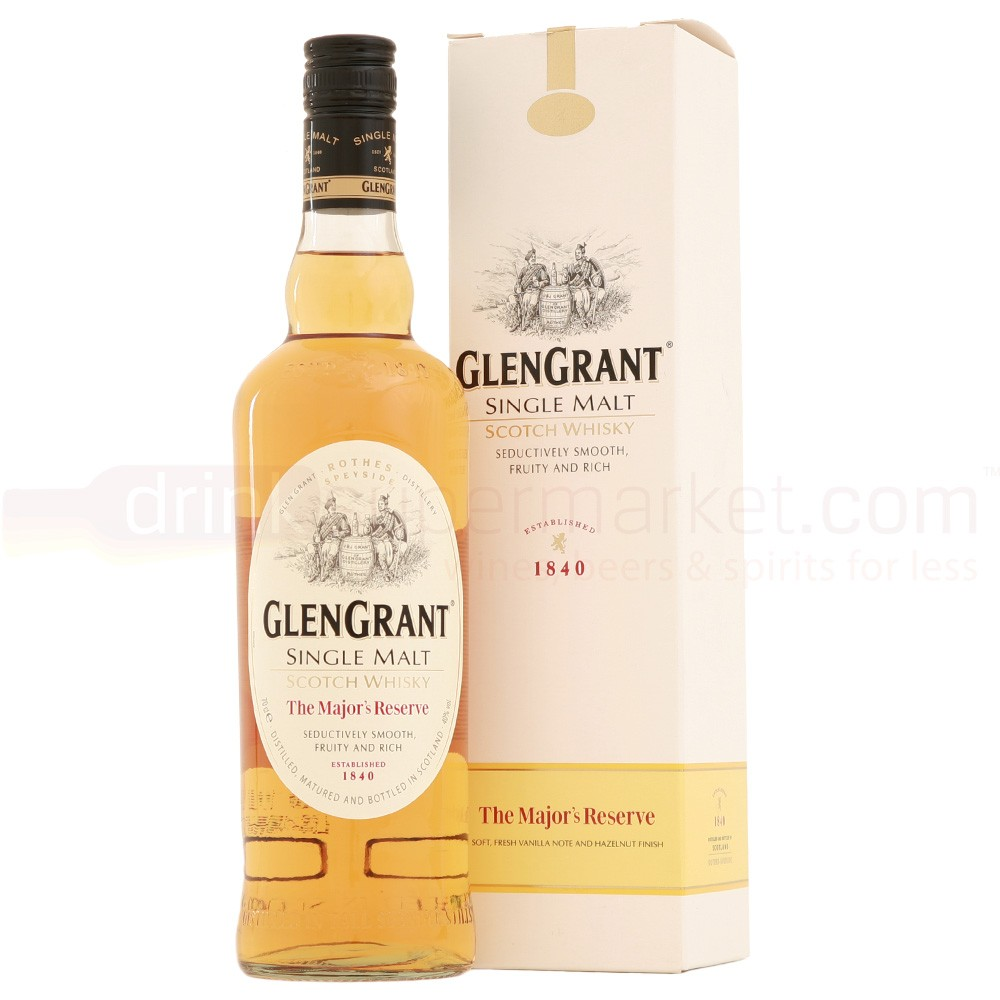 Buy Glen Grant The Majors Reserve Whisky 70cl Speyside Single Malt Scotch Whisky 700ml / 40%