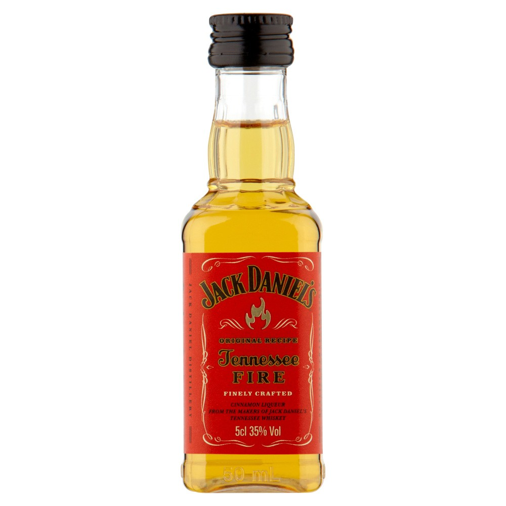 Buy Jack Daniel's Tennessee Fire Whiskey 5cl Cinnamon Whiskey Liqueur 50ml / 35%