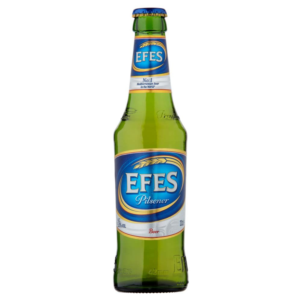 Buy Efes Pilsner Beer 330ml/ 5%