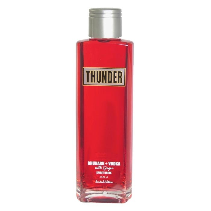 Buy Thunder Rhubarb And Ginger Vodka Spirit Drink 70cl 700ml / 29.9%