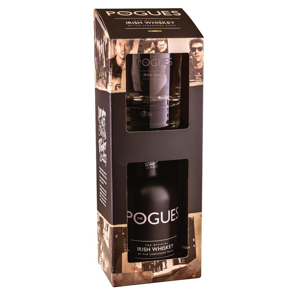Buy The Pogues Irish Whiskey Gift Pack 20cl Gift Pack With Glass 200ml / 40%