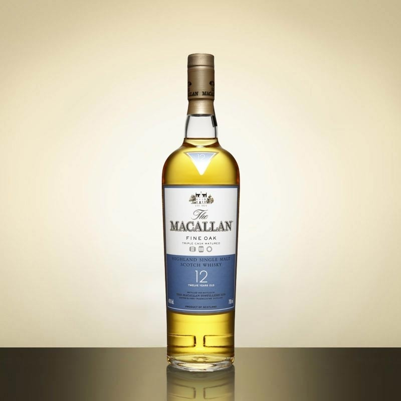 Buy Macallan 12 Year Fine Oak Whisky 35cl Speyside Single Malt Scotch Whisky 350ml / 40%