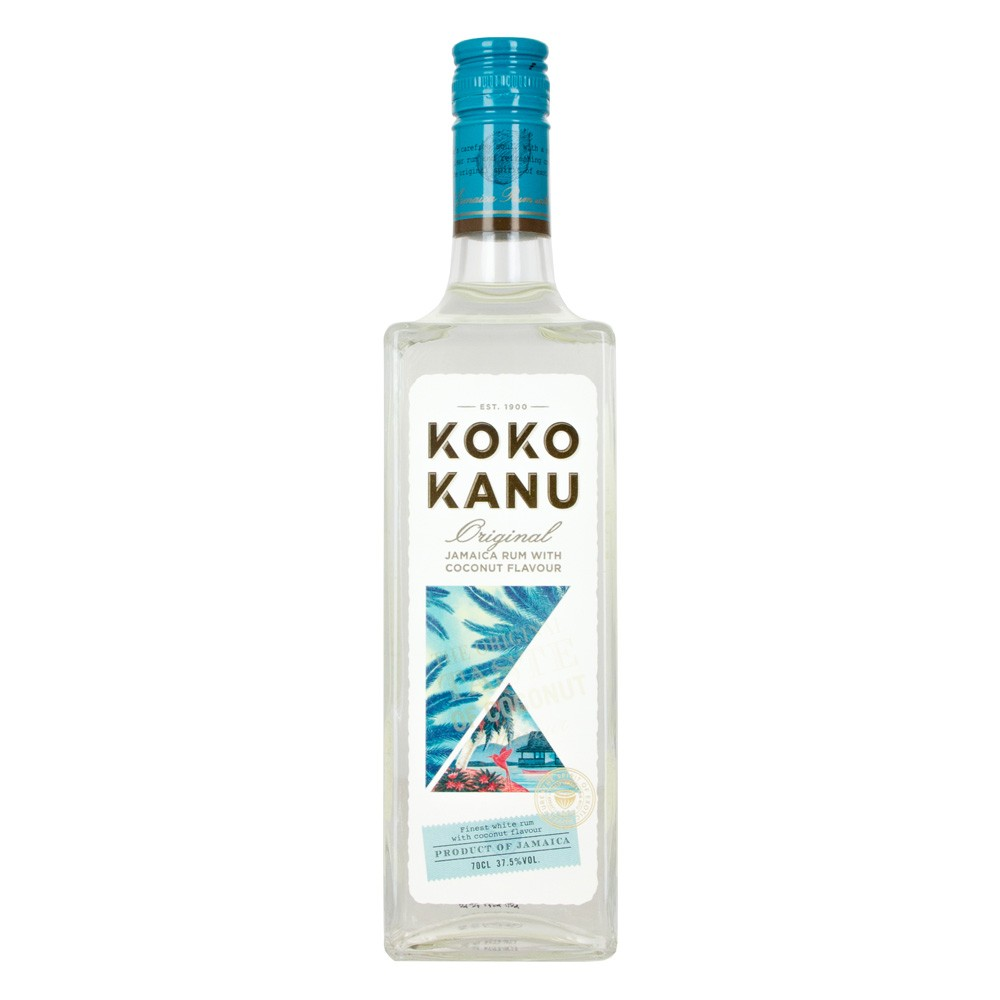 Buy Koko Kanu Rum 70cl Jamaica Coconut White Rum 700ml / 37.5%