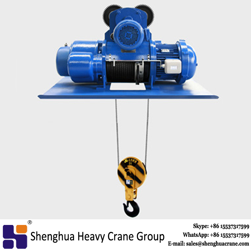 Best price 1t workshop use mini mechanical electric wire rope hoist