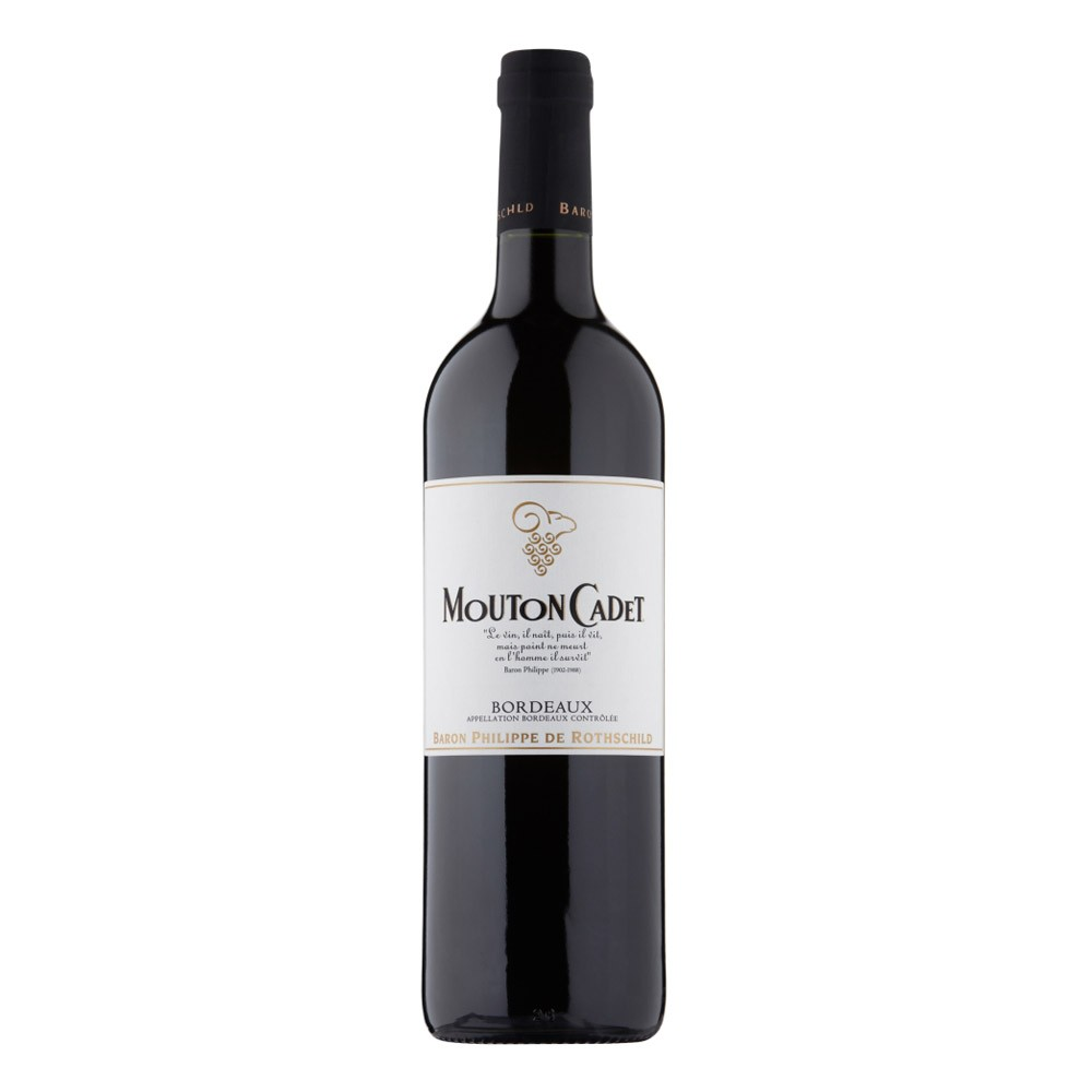 BUY Baron Philippe De Rothschild Mouton Cadet Red Wine 75cl 750ml / 13.5%