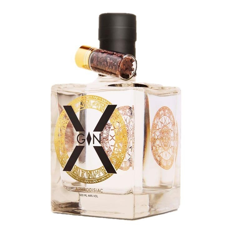 BUY  X-Gin Aphrodisiac 50cl Chocolate Infused Gin 500ml / 46%