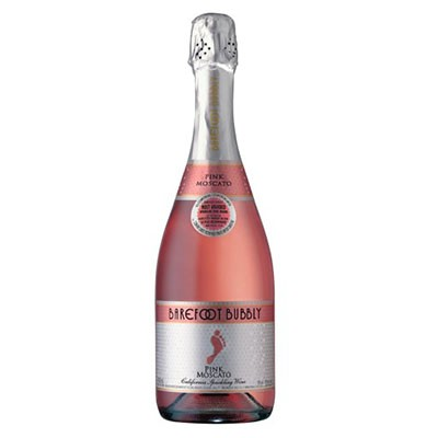BUY  Barefoot Bubbly Pink Moscato Sparkling Wine 75cl 750ml / 8%