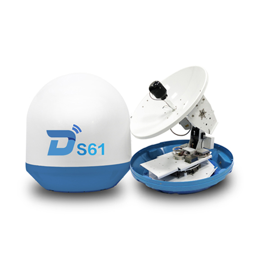 Ditel S61 63cm 3-axis ku band outdoor digital marine satellite tv antenna dish antenna