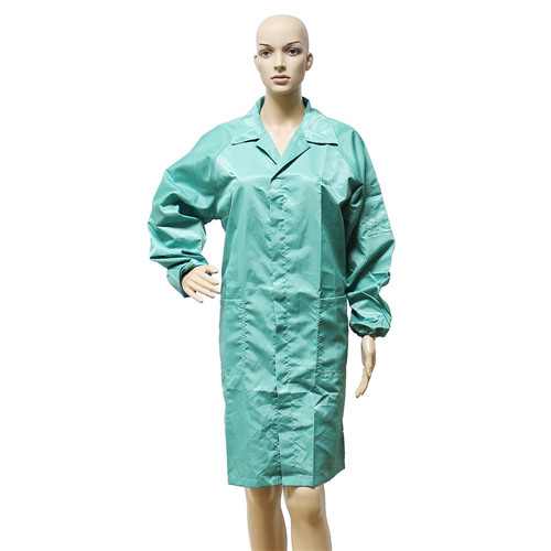 Hot sale high quality soft new design Cleanroom Clothes ESD Suit Uniform Jackets T-shirt Coverall Antistatic Smock Overcoat wholesale